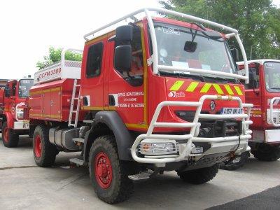 camion pompier CCF
