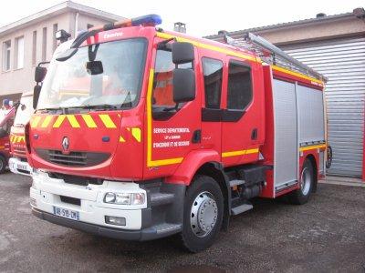 camion pompier FPT