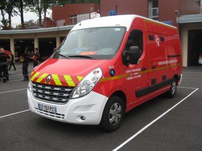 camion pompier VSAV