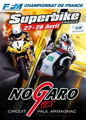 Championnat de france Superbike Nogaro 2013