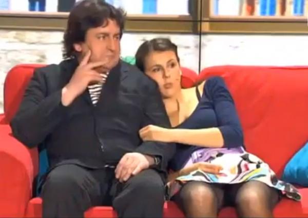 Nicole Ferroni et Babass