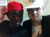 Hugues Duquesne et Ahmed Sylla