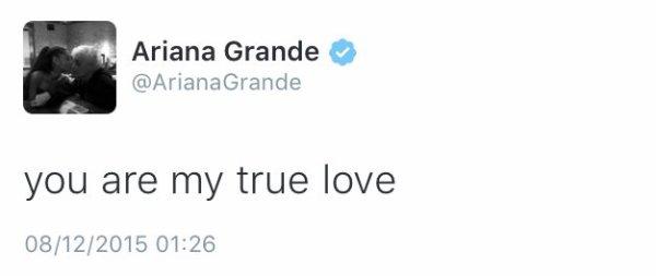 Ariana grande vue par les fans !