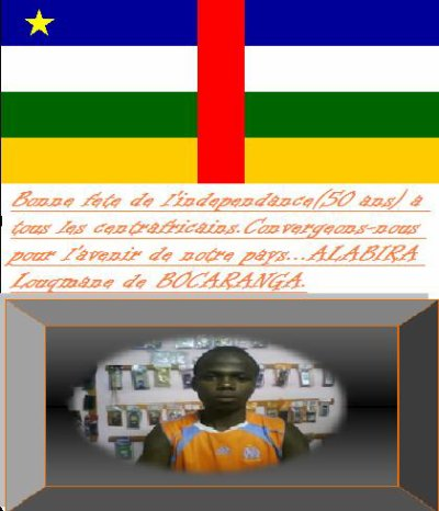 Centrafrique: 50 ans + 1 L'independance