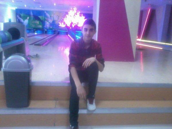 aujourd hui au bowling ^^