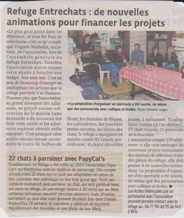 ARTICLE DU 1er FEVRIER 2012