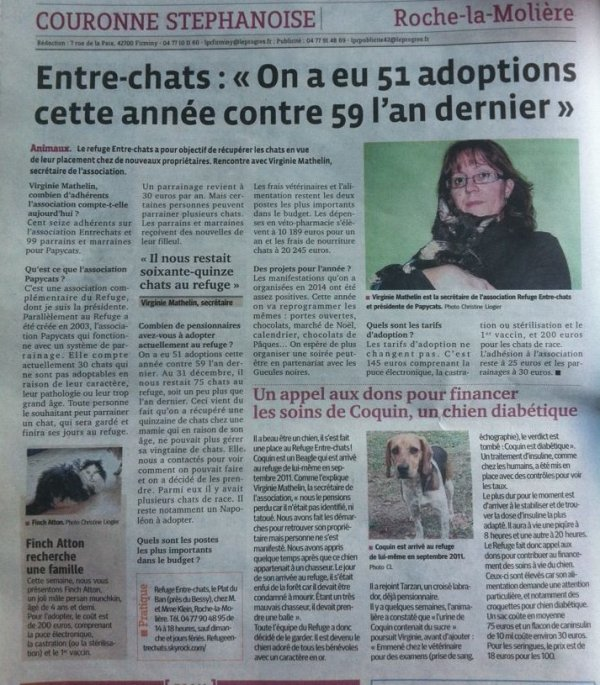ARTICLE DU 14 FEVRIER 2015