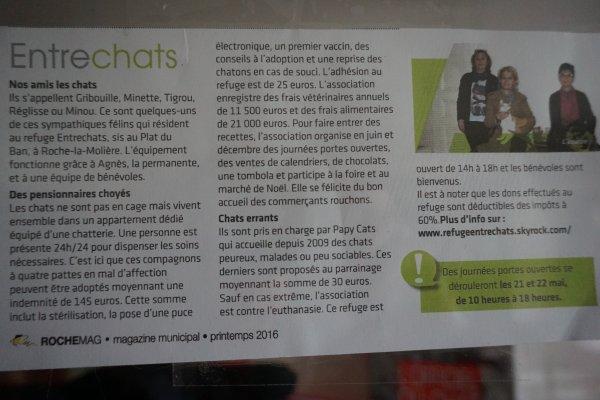 INFO (magazine municipal de Roche la Molière