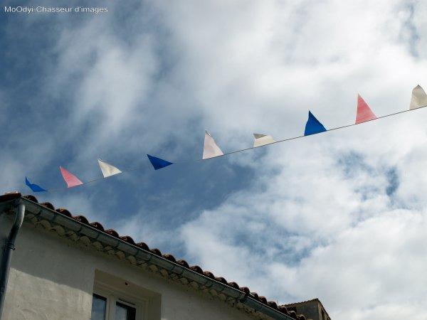 Série Ciel et drapeaux