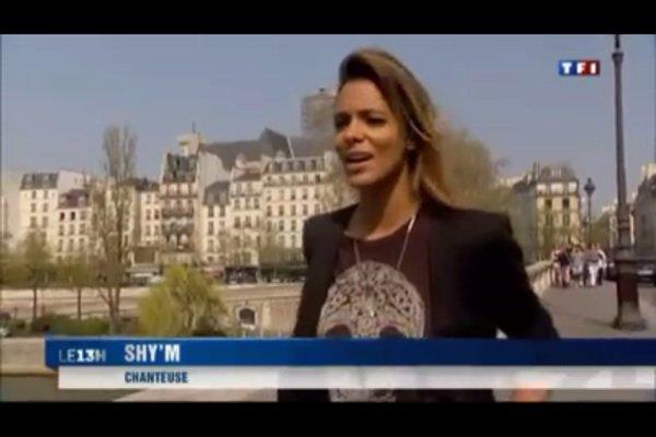 «Shy'm sort les griffes lors de son 2ème Zénith» dans le JT de TF1 !