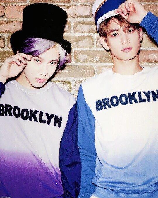 Taemin and Minho.