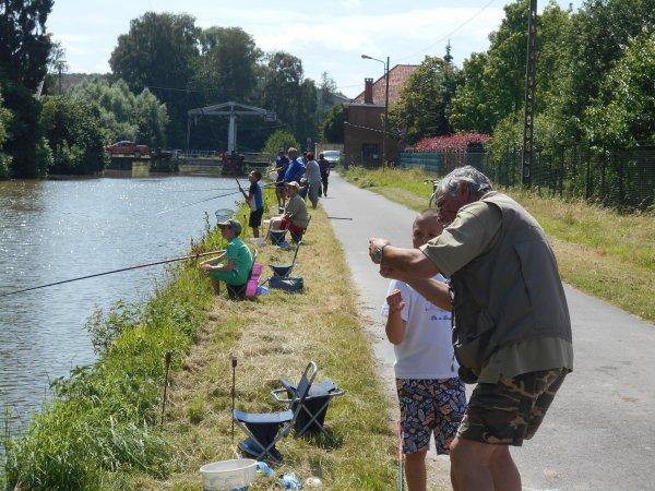 Stage de Pêche à Deux Acren le 09 07 2016