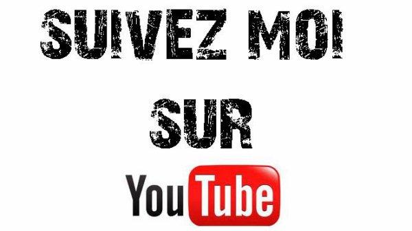 Abonne-toi à ma chaine Youtube ;-)