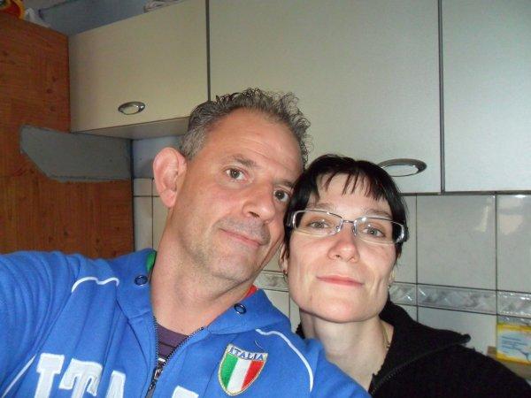 Mon parrain et sa femme => Grazi ma taty