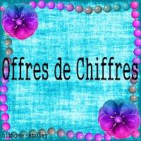 Offres de Chiffres