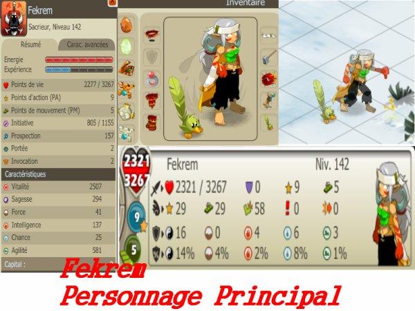Présentation  des personnages .  de As-team .