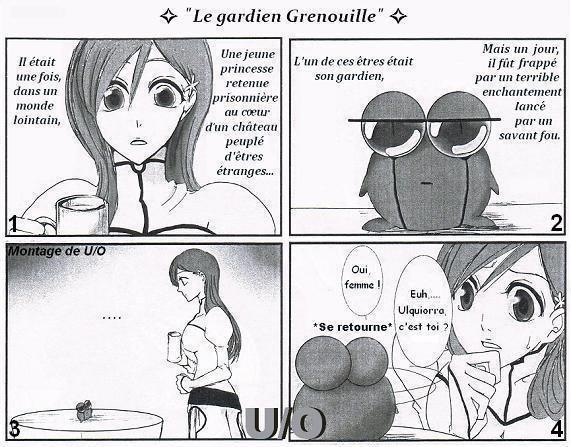 """""""le gardien grenouille"""" ulquihime"""