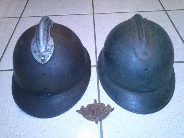 vente casques adrian et insigne adrian 23 de l'armée de l'air