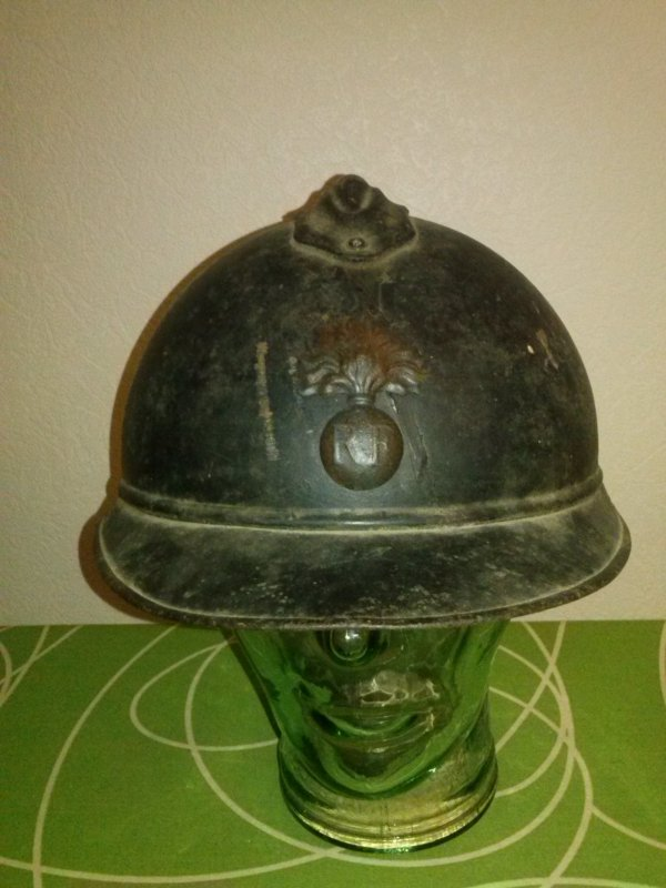 Casque adrian Mdle 15 infanterie