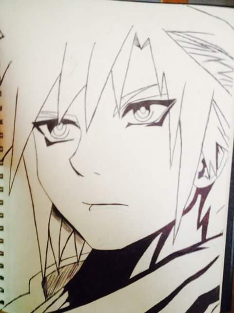 Dessin #2 Cloud strife dans Final Fantasy 7