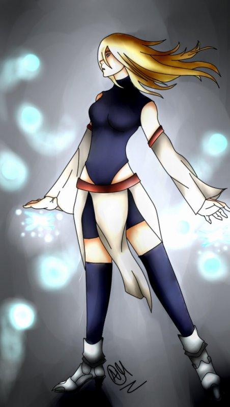 Dessin #18 Petit perso que j'ai créé c: Emiko Yamase !!