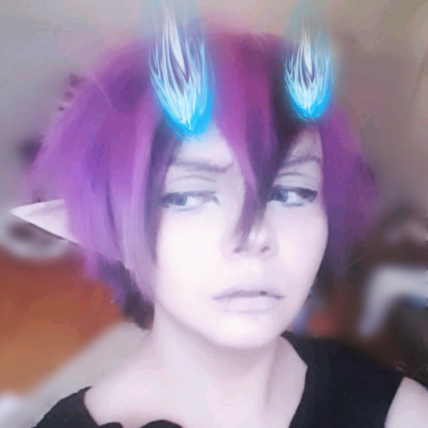 Rin Okumura costest ( With stickers for the flames lol )