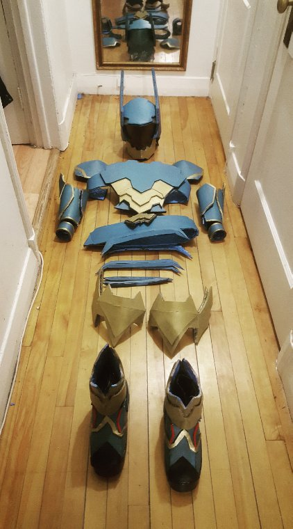 Ventus armor finished