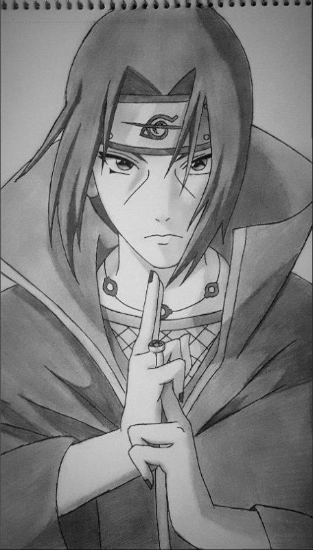 Itachi Uchiha drawing