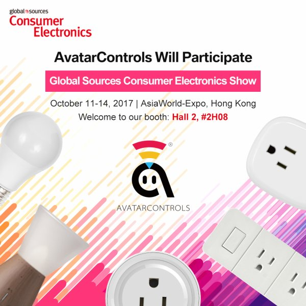 AvatarControl will attend 2017 Hongkong Consumer Electronic Show