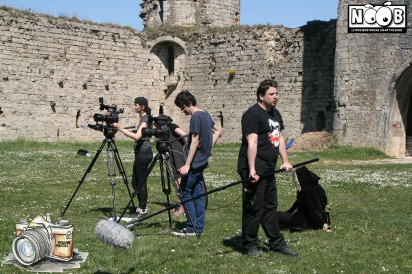 Quelques photos du tournage de Noob film 2