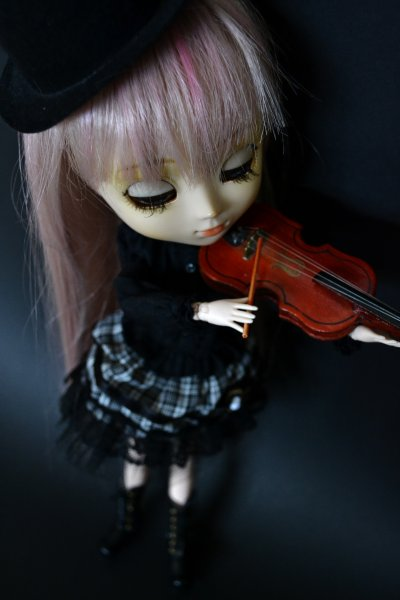 La petite violoniste.