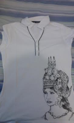 Le T-shirt Apsara