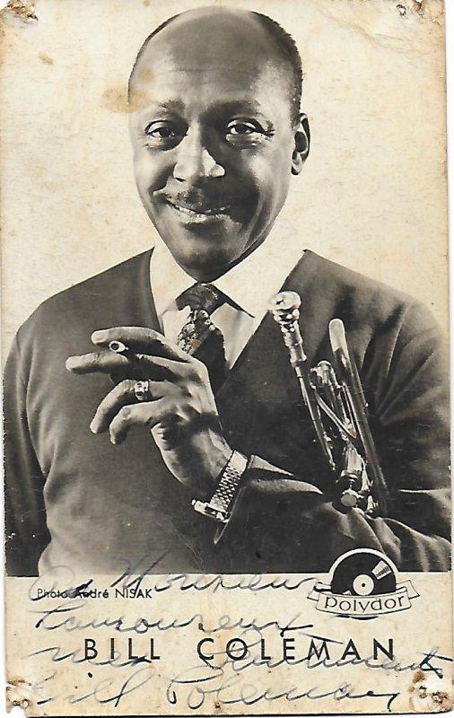 Bill COLEMAN - American jazzman