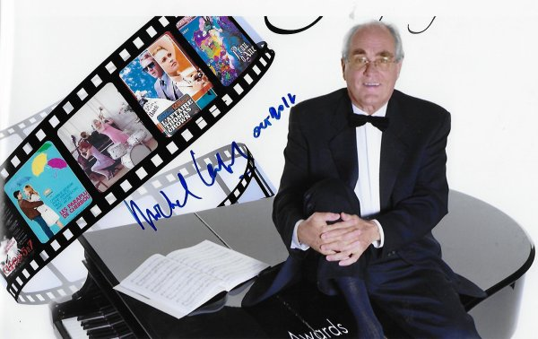 Michel LEGRAND - In person autograph