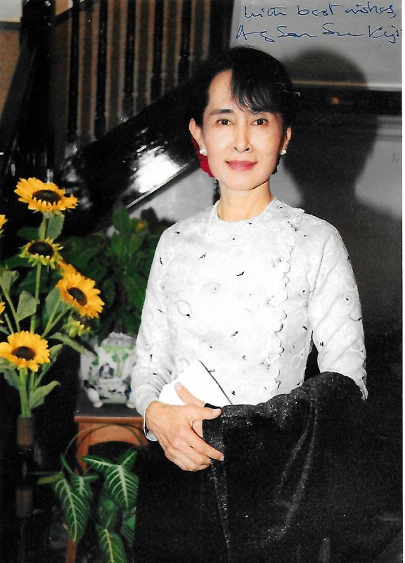 Aung San Suu Kyi - Femme politique birmane - Prix Nobel de la Paix