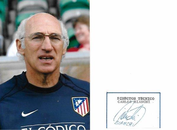 Carlos BIANCHI - Ancien footballeur et entraîneur de football (Argentine)