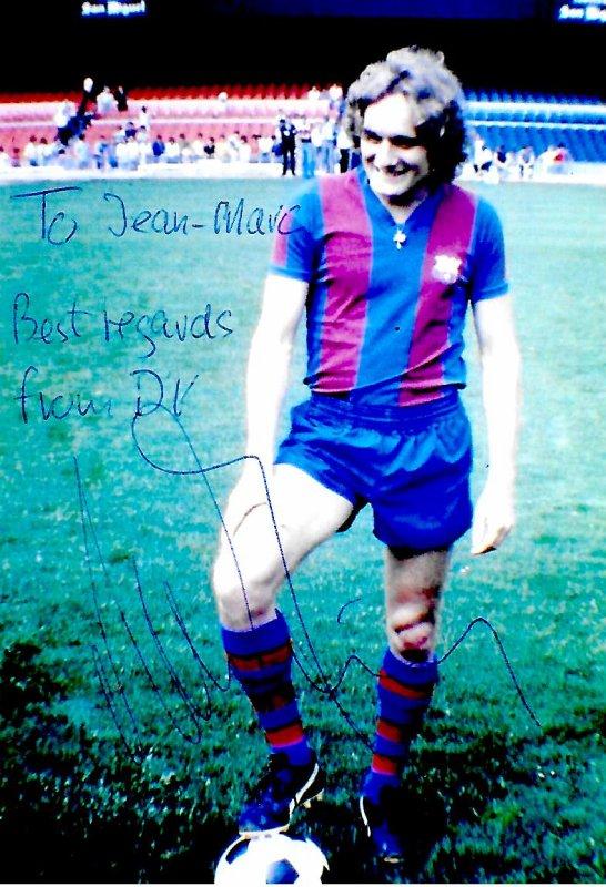 Alan SIMONSEN - Ancien joueur de football danois (FC Barcelone)