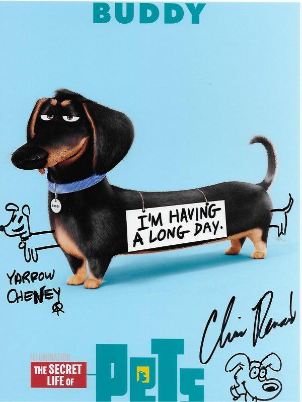 Chris RENAUD & Yarrow CHESNEY - Animators and film makers