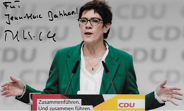 Annegret KRAMP-KARRENBAUER - German politician
