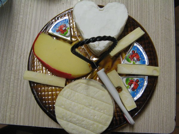fleurs et gateaux, une part de fromage? du neufchatel au lin vous connaissez?