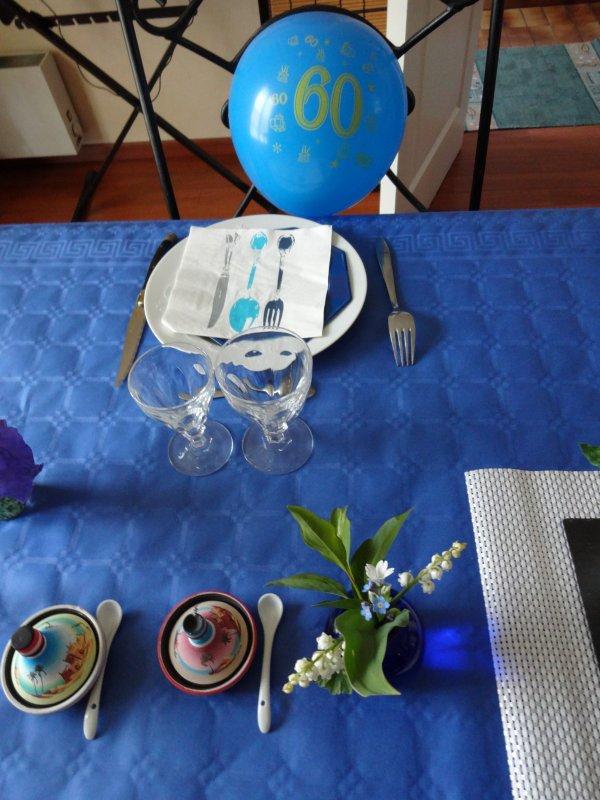 mon repas de dimanche   merci à tous pour les cadeaux virtuels que vous m'avez adressé.