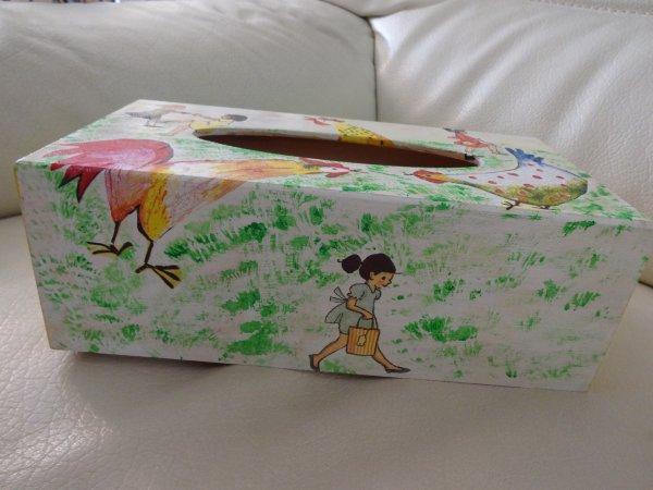 la boite à mouchoirs pour ma petite fille