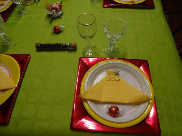 ma table de paques