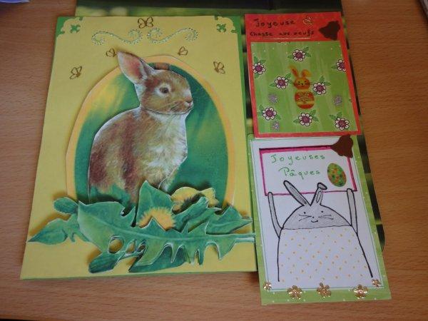 vendredi merci à Annie pour son envoi carte plus deux atc