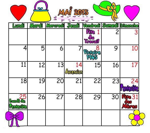 voilà le mois de Mai   j'adoooooore  bon premier mai à tous