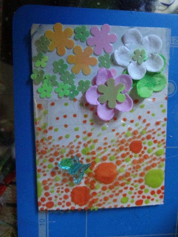 des mini cartes que j'ai faites  ces mini cartes s'échangent et ne se vendent pas