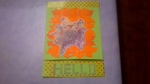 mes dernières cartes  qui sont dans la boite à lettres lol