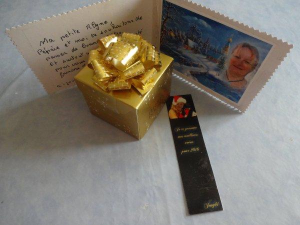 mercredi les derniers cadeaux recus   merci à tous pour votre participation  merci pour votre envoi