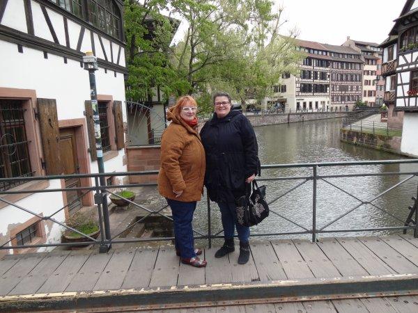 notre rencontre Mapucca et moi sur strasbourg