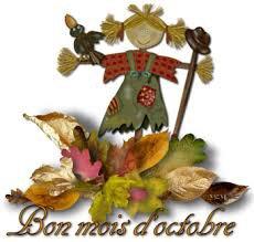 voilà le mois d octobre d'arrivé   que le temps défile vite, perso je suis pas trop halloween